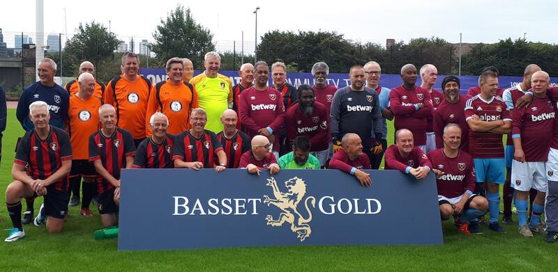 Basset & Gold Walking Football Tournament
