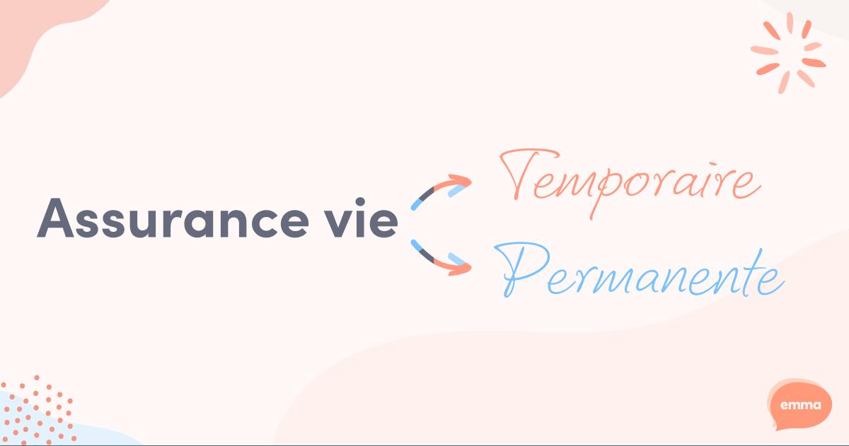 Assurance vie temporaire ou permanente? 🤷��♀�