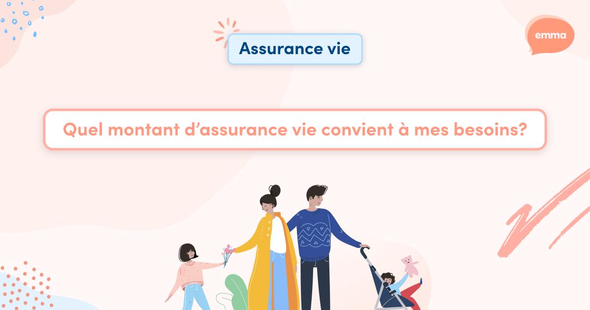 Quel montant d'assurance vie convient à mes besoins? 📊