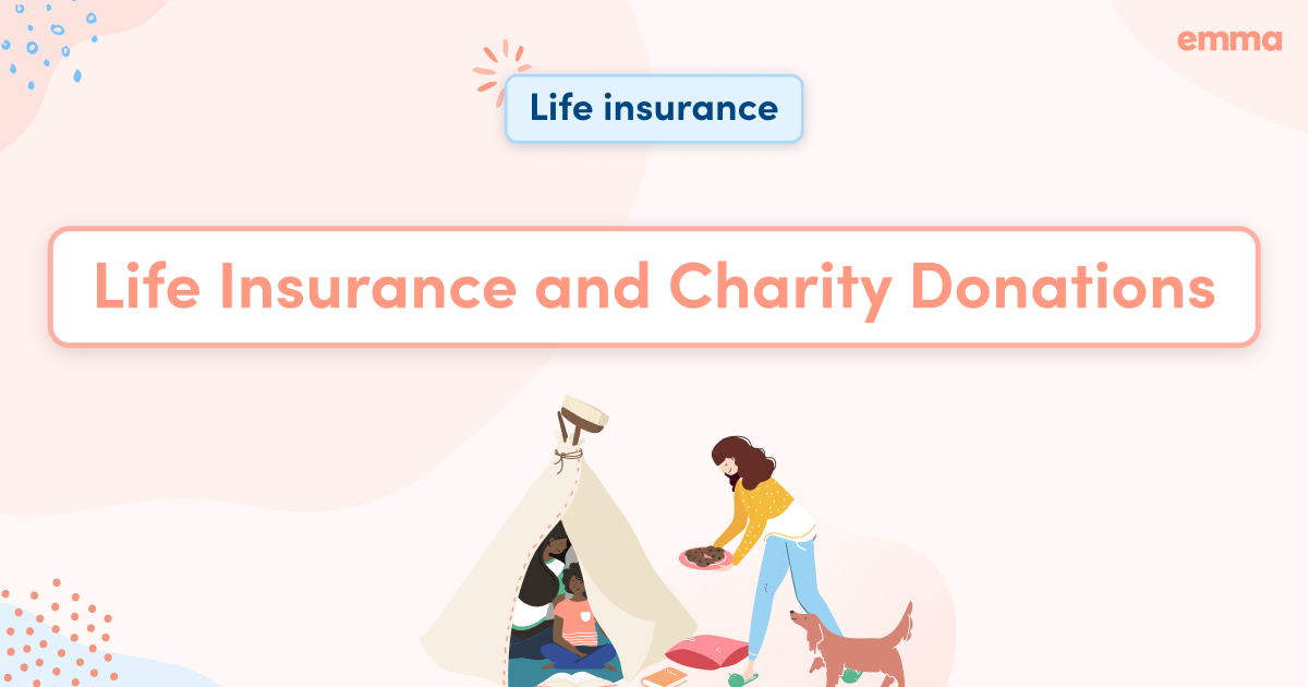 Life Insurance and Charity Donations