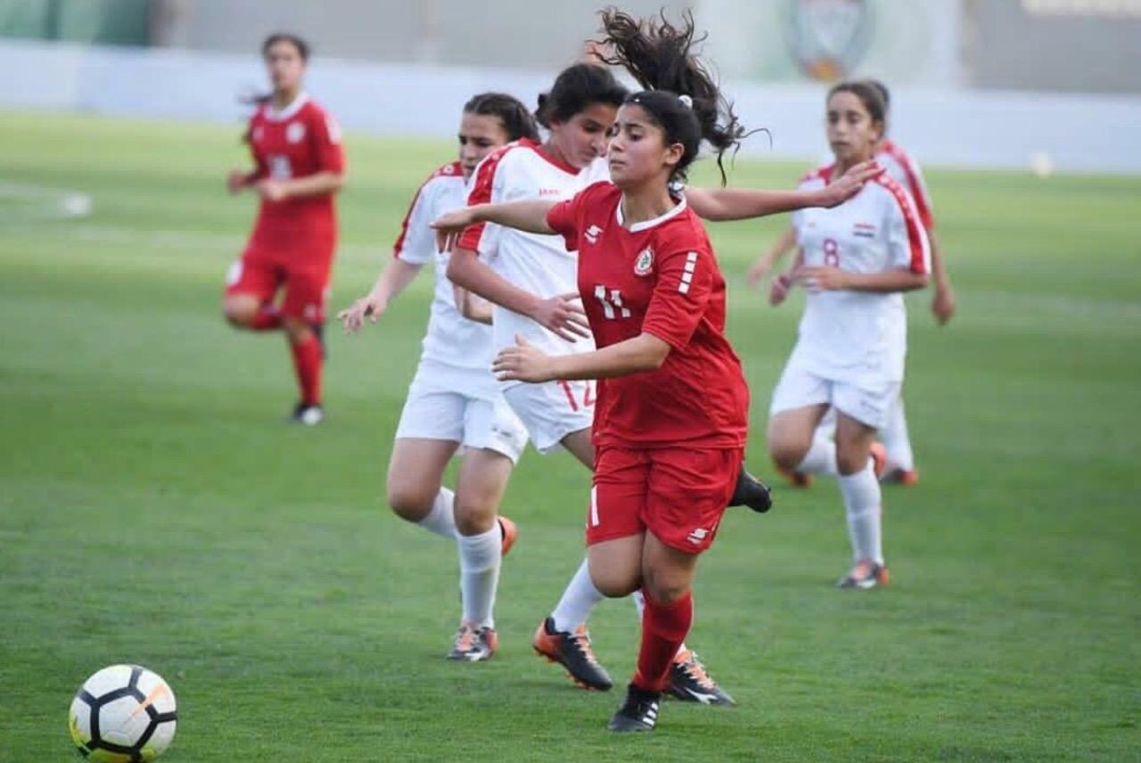 تأهل منتخب لبنان للناشئات إلى نهائي بطولة غرب آسيا