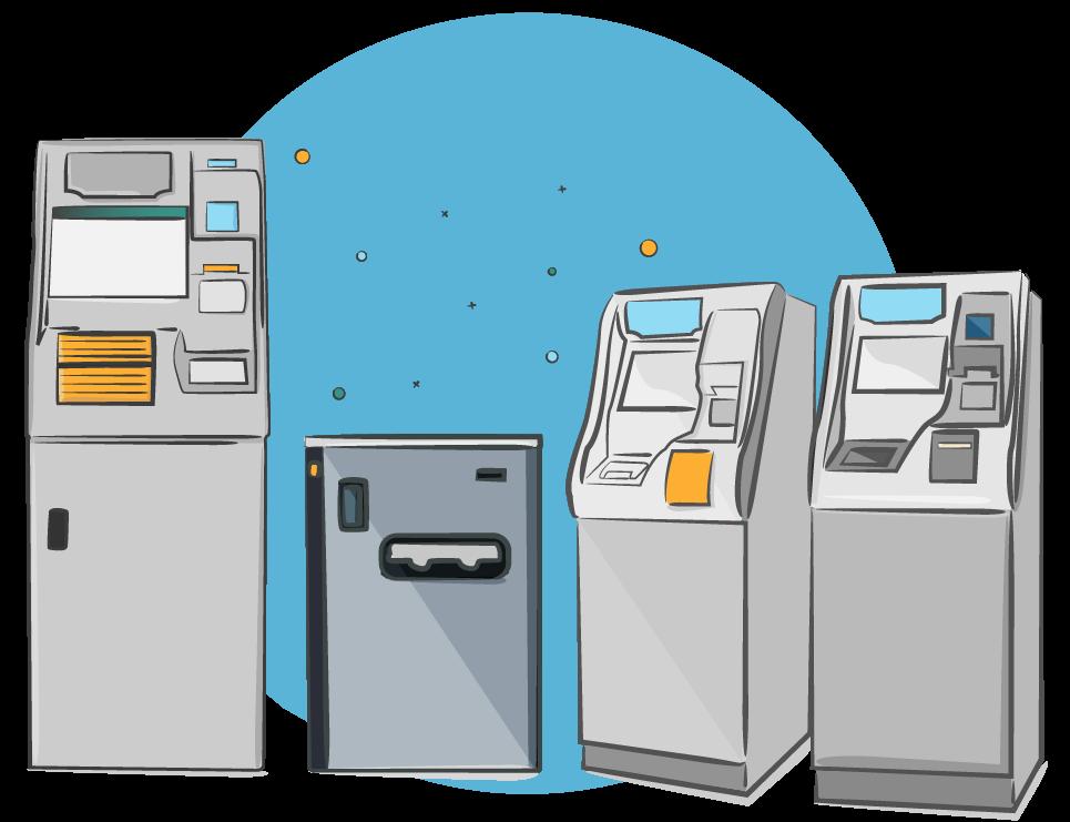 Rototype International deposit machine illustrator