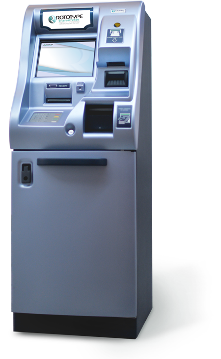 Rototype International Cheque Deposit Machine