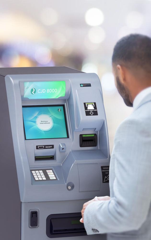 Rototype International cheque dispenser