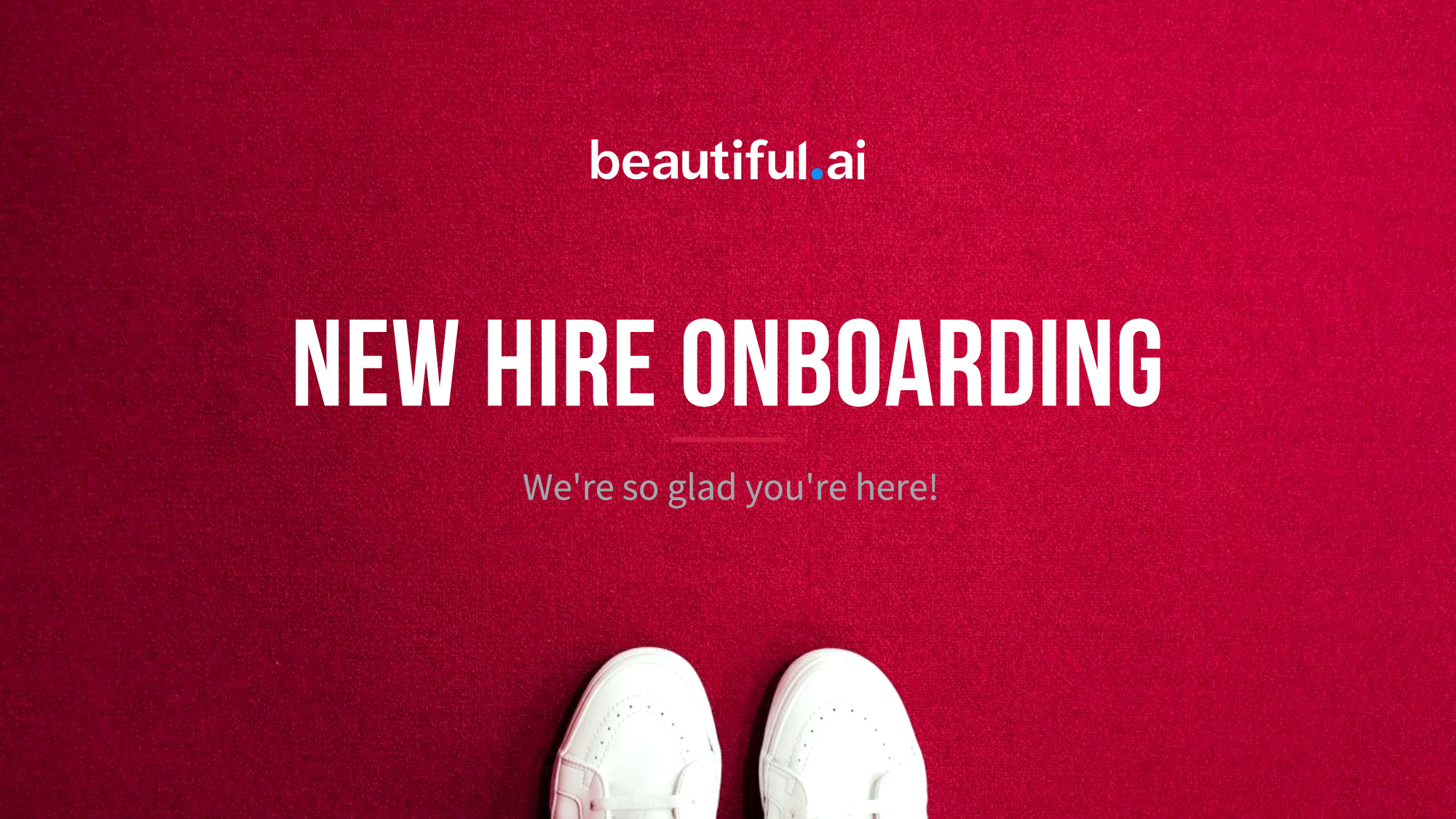 New Hire Onboarding Template