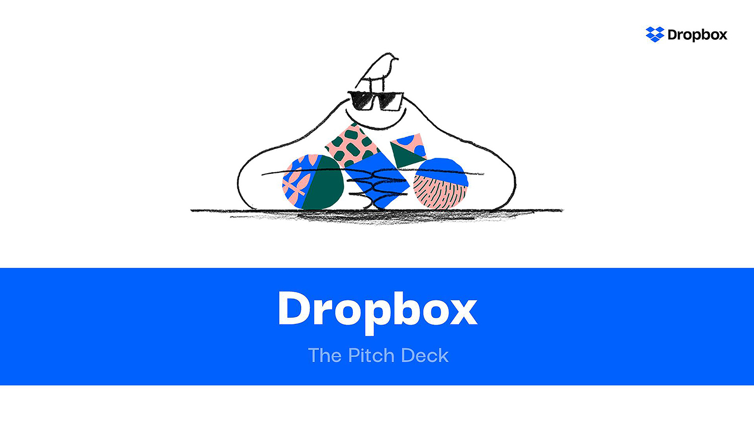 Dropbox Pitch Deck Template