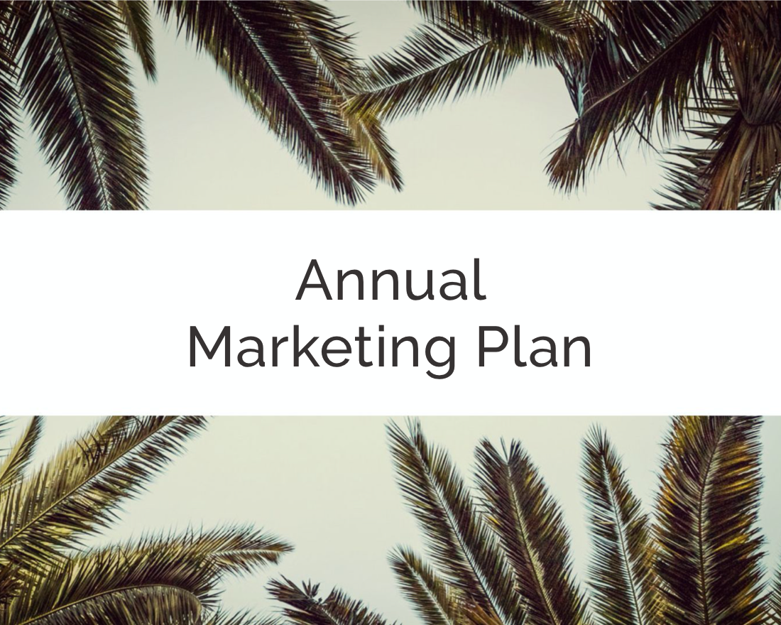 Create an Annual Marketing Plan in Minutes