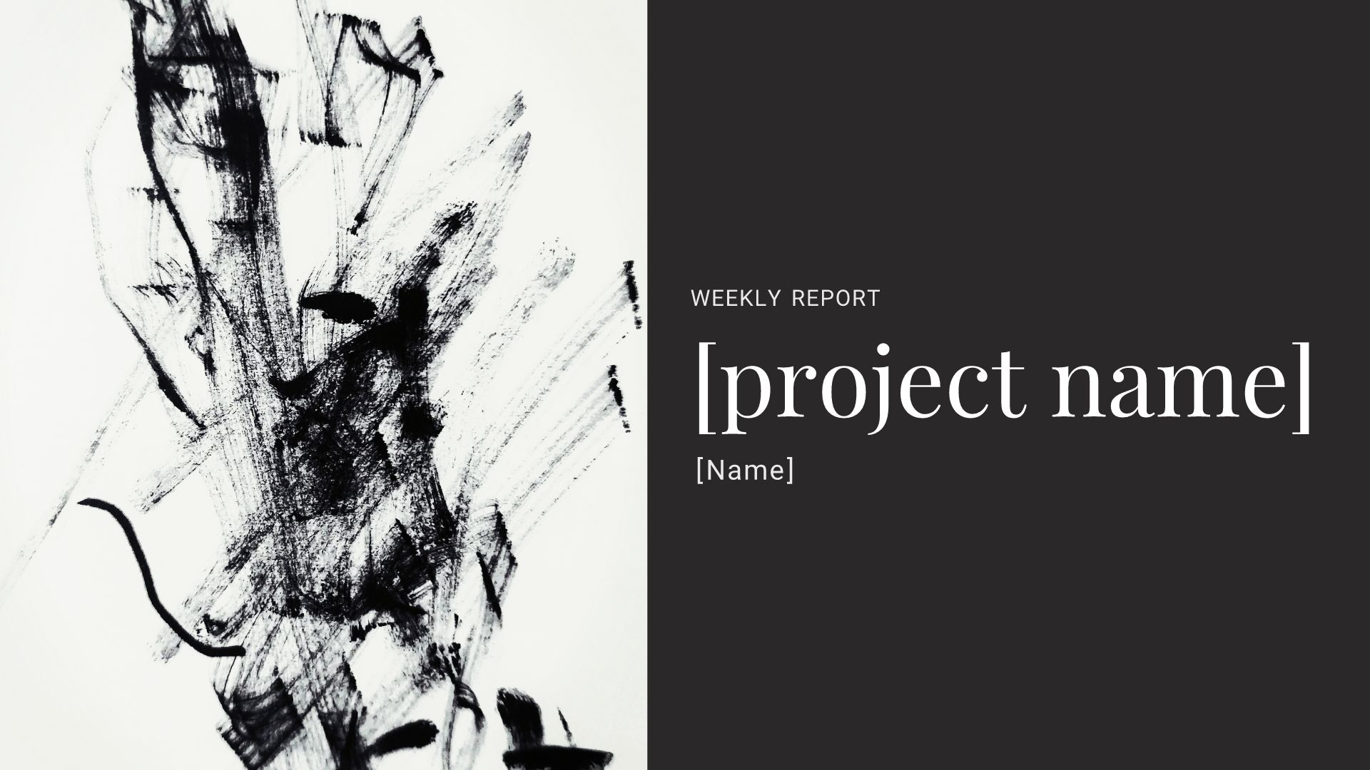 Weekly Report Presentation