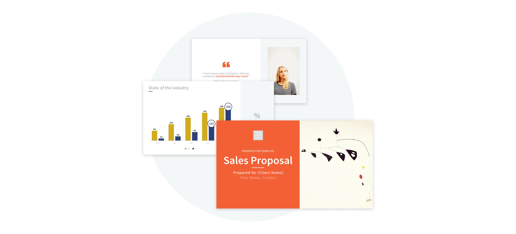 Use This Sales Deck Template for Your Next Big Pitch