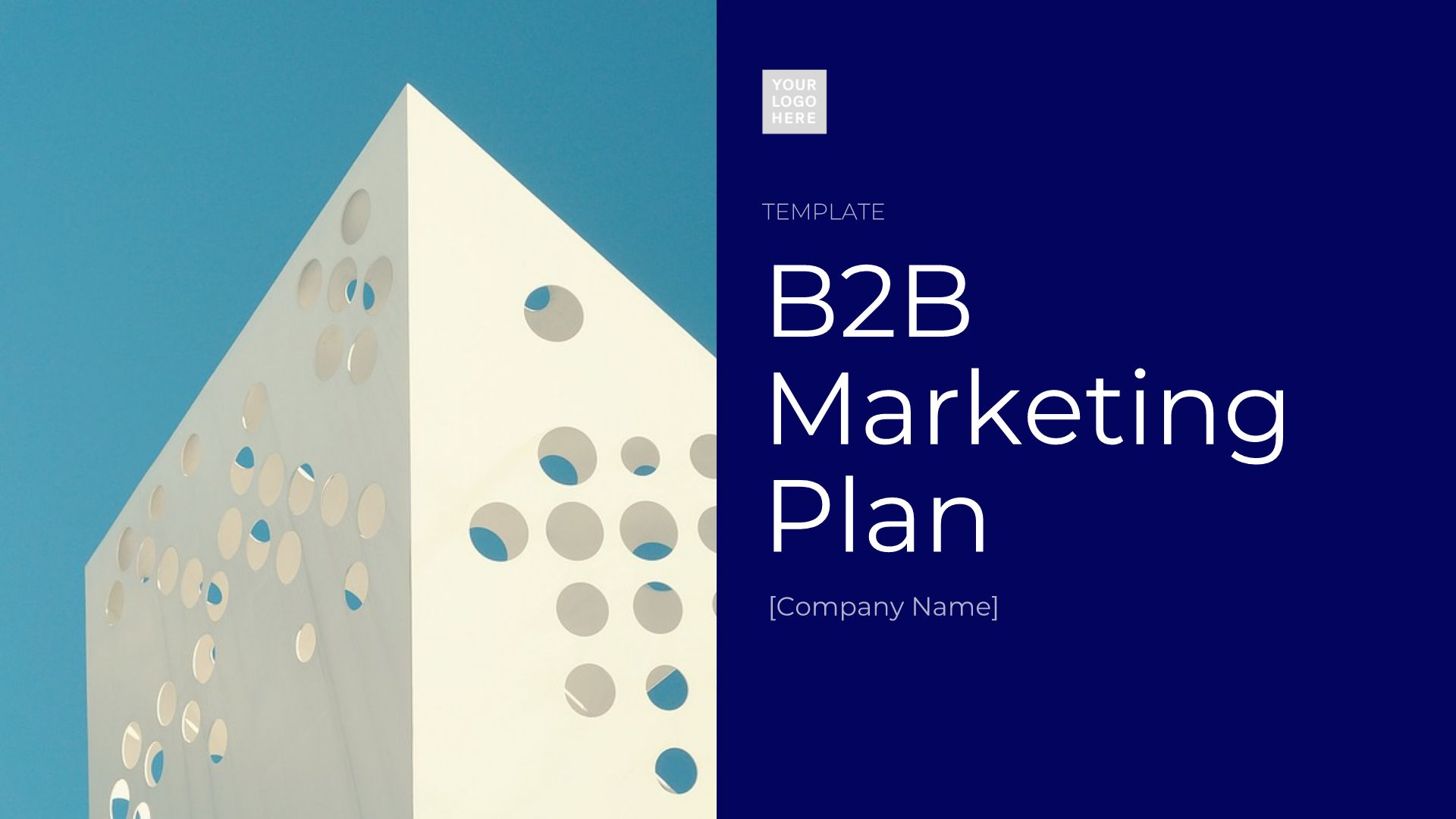 B2B Marketing Plan Template