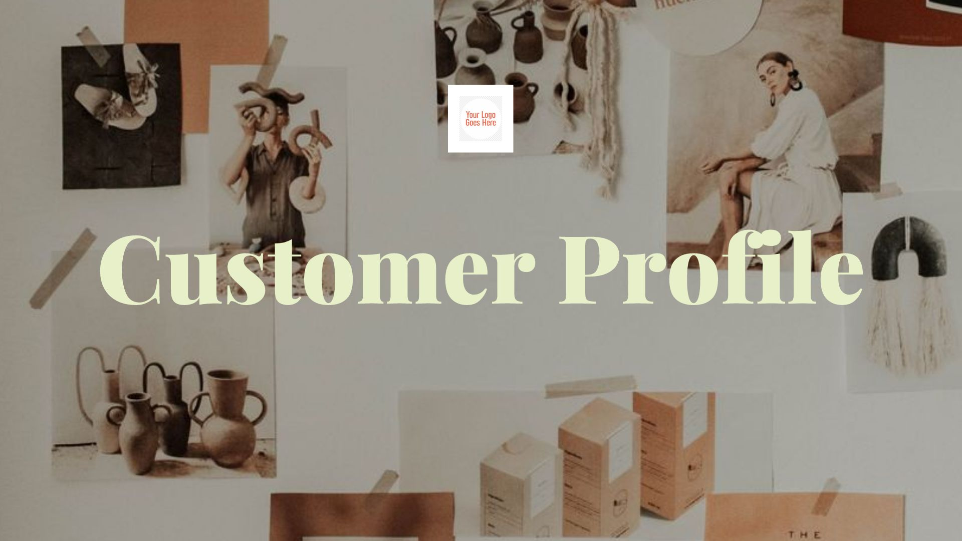 Customer Profile Presentation Template