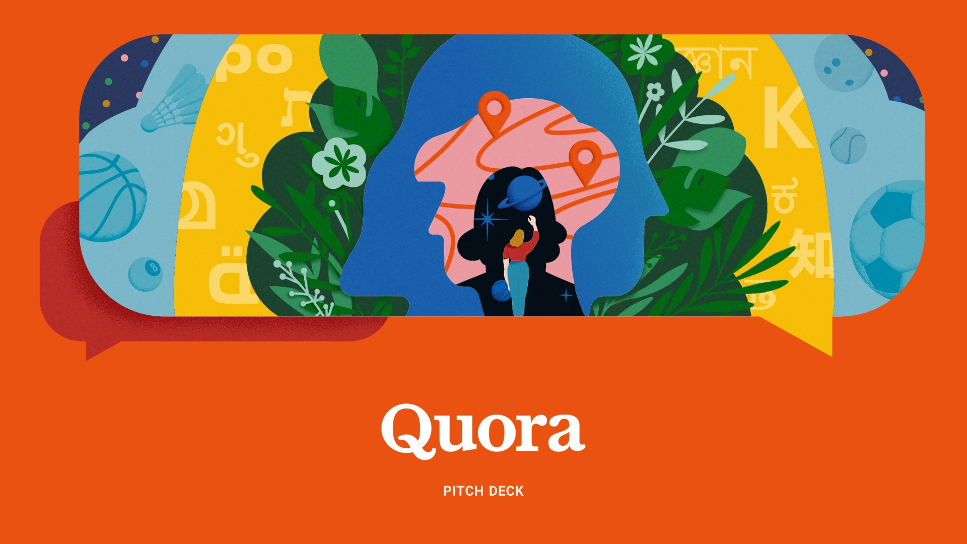 Quora Pitch Deck Template