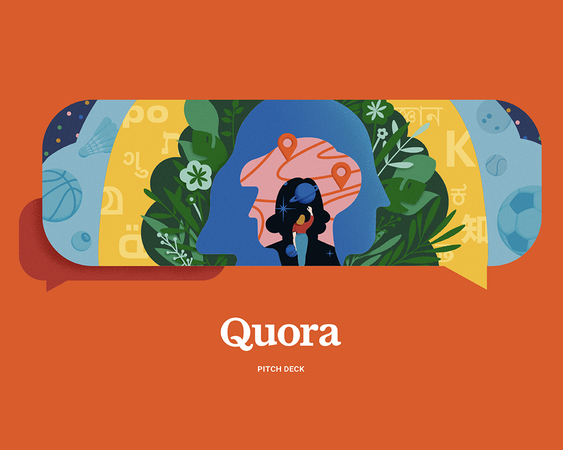 PowerPoint Makeovers: the Quora Pitch Deck