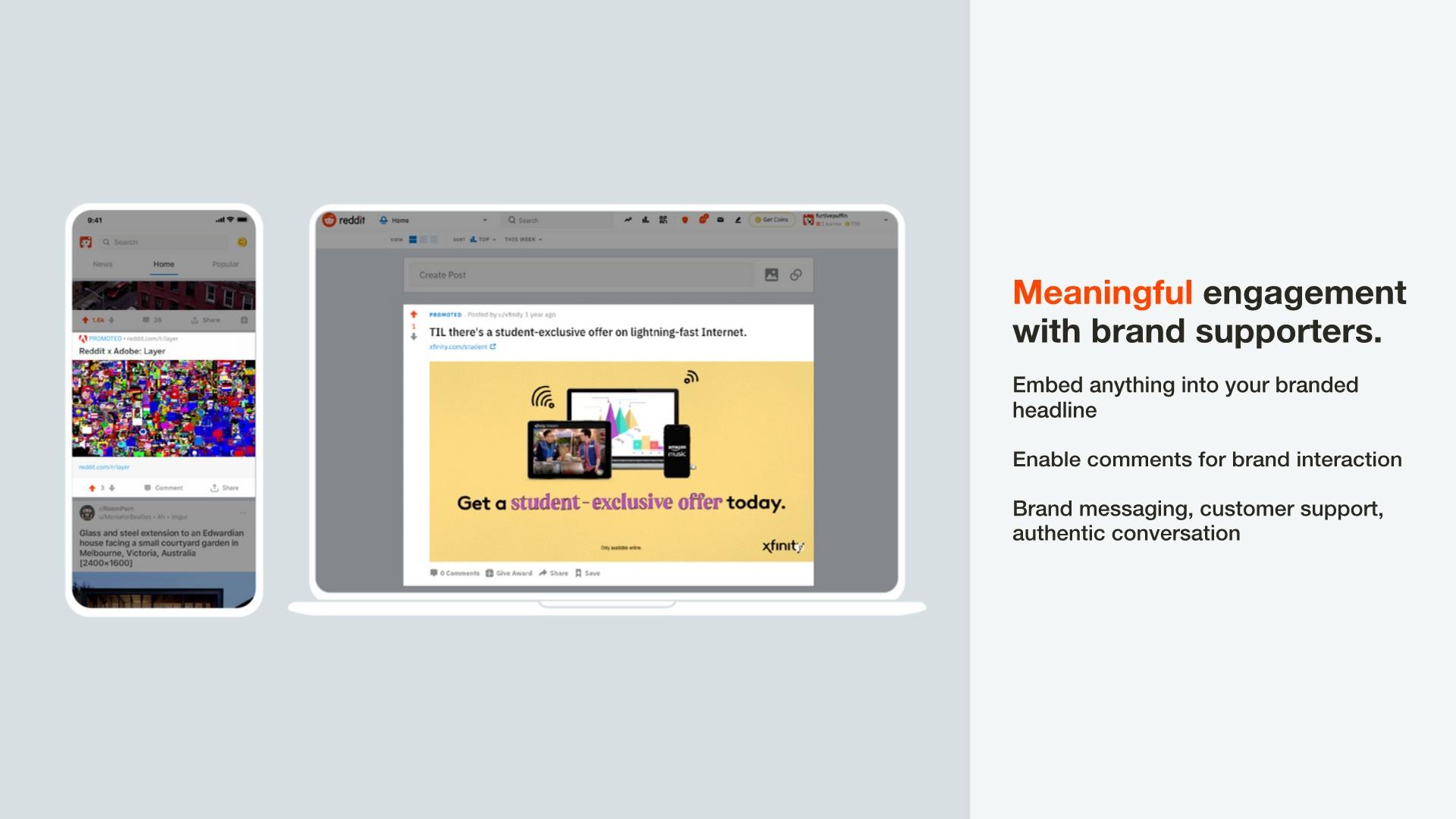 Brand Engagement slide