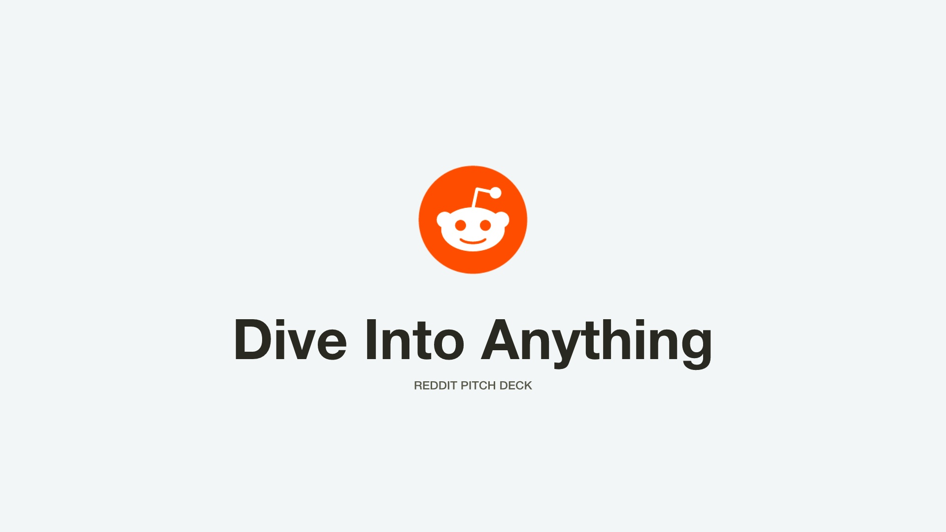 Reddit Title Slide