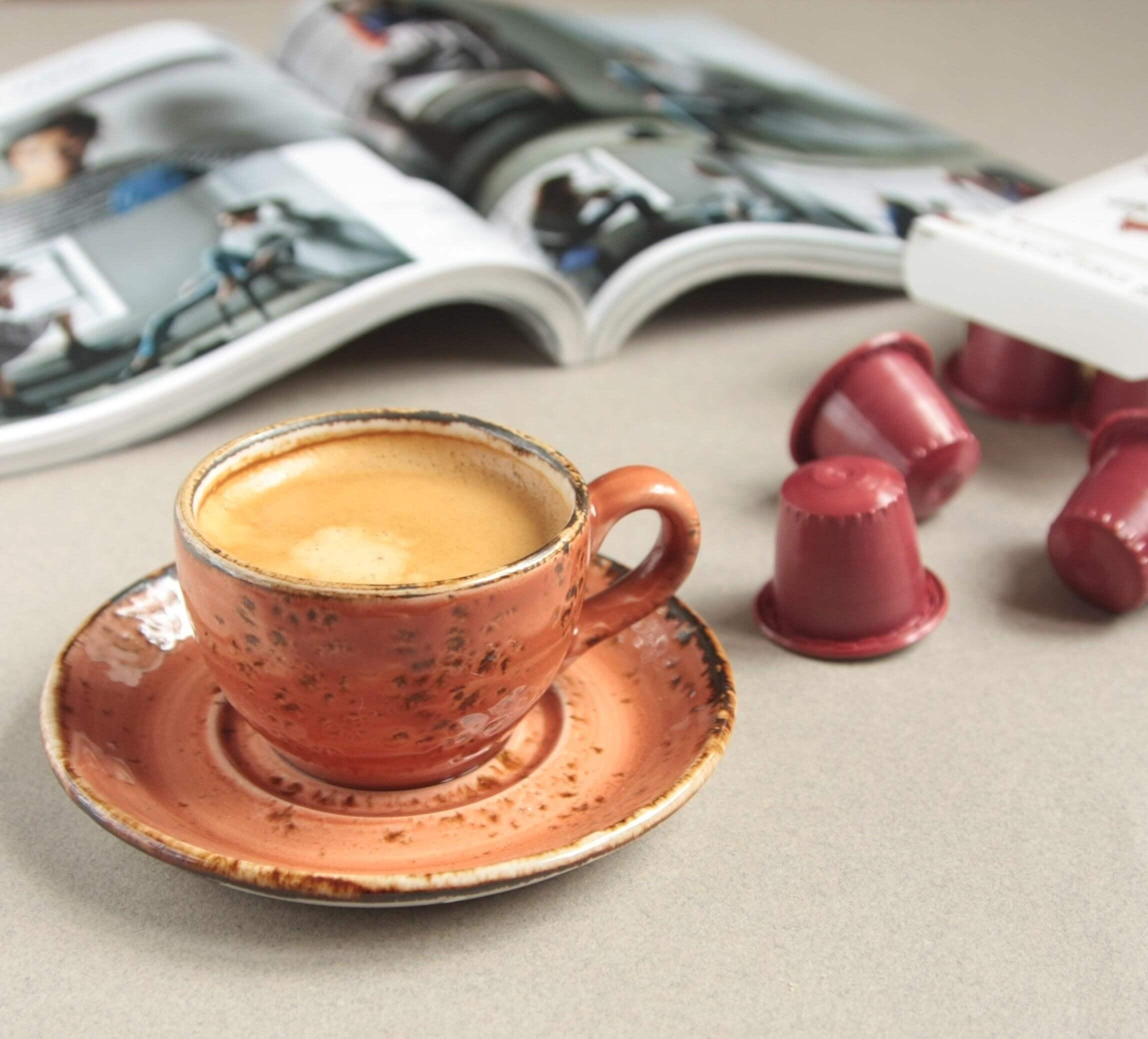 Кофе капсулы Single Cup Delicate для кофемашин Nespresso нотки изюма и черники