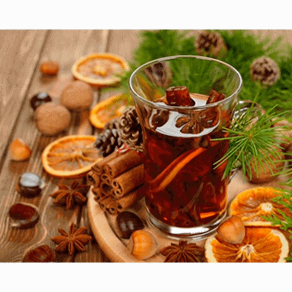 Добавьте сахар в безалкогольный глинтвейн в капсулах Nespresso по вкусу