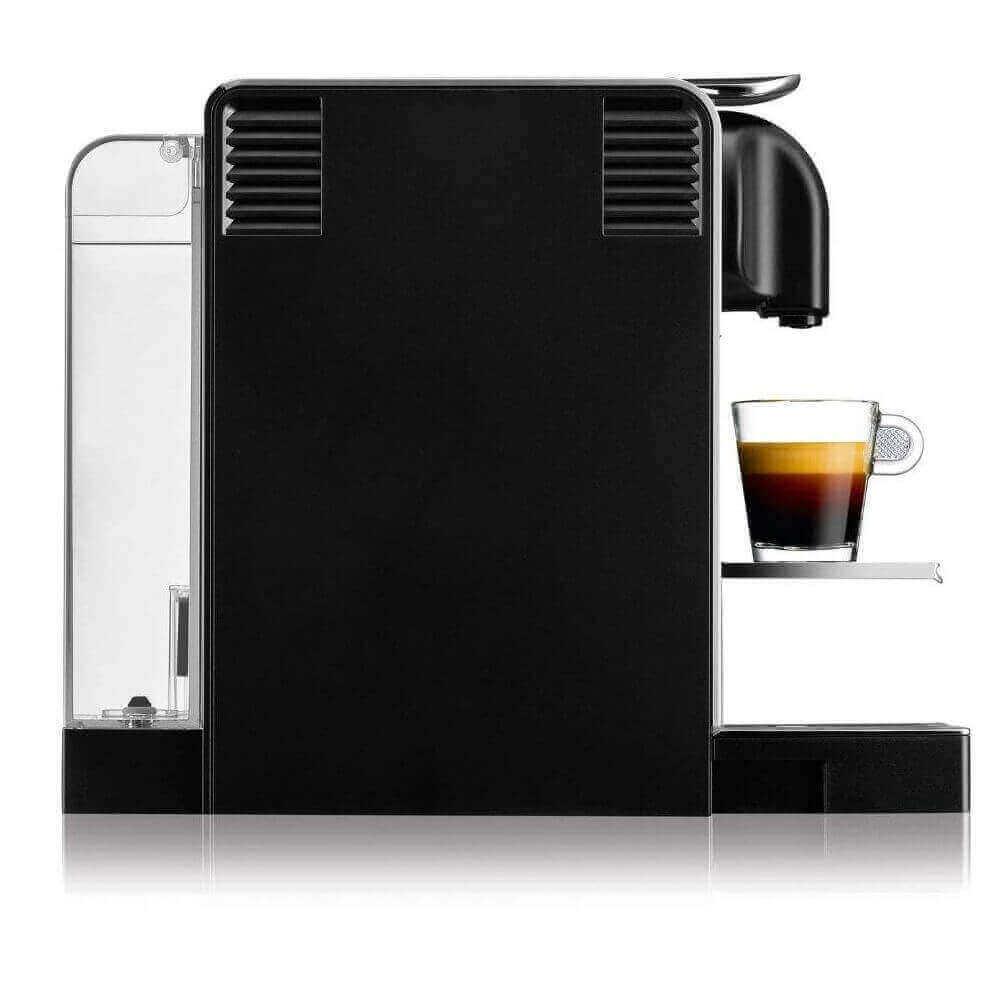 Кофемашина Delonghi Nespresso Lattissima Pro вид сбоку