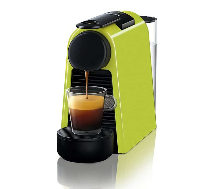 Кофемашина Delonghi Nespresso Essenza Mini зеленая