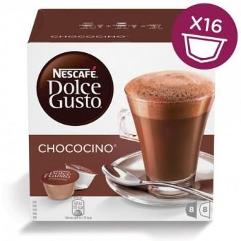Густой горячий шоколад Chococino в капсулах для кофемашин Nescafe Dolce Gusto