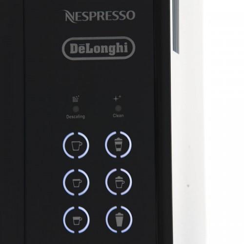 Латте и капучино по нажатию одной кнопки на капсульной кофемашине Delonghi Nespresso Lattissima Touch
