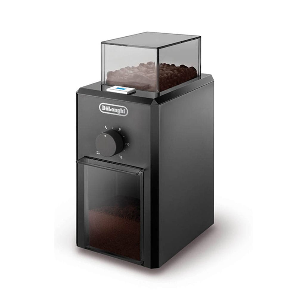 Фото кофемолки Delonghi KG 79 черного цвета
