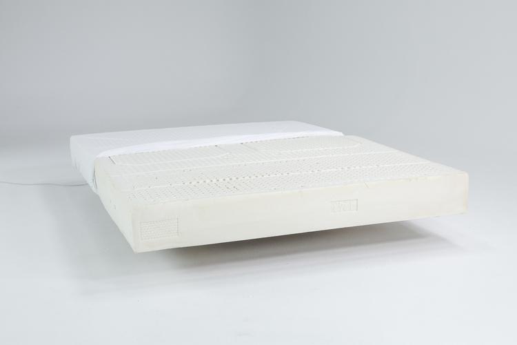 Zenna latex mattress floating