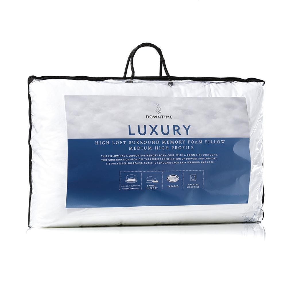 Adairs Luxury High Loft Surround Memory Foam Pillow