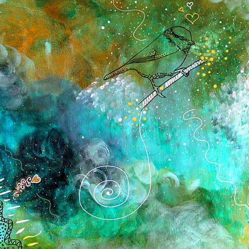Le chant d'oiseau |Les Commandées |Tous Créateurs | Florence Pradervand