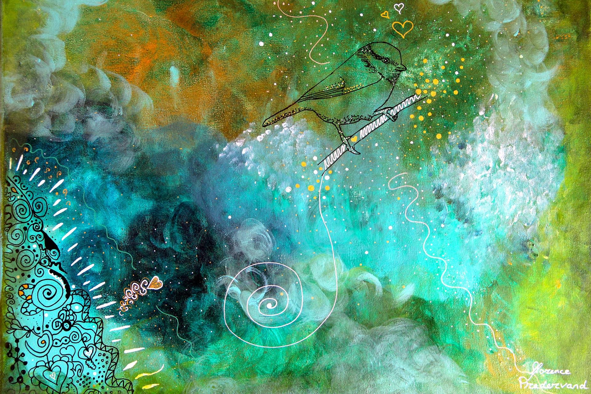 Peinture Finalisée | Les Commandées |Tous Créateurs |Florence Pradervand