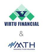 virtu financial and mth logos