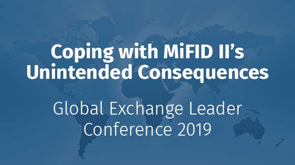 Coping with MiFID II's Unintended Consequences