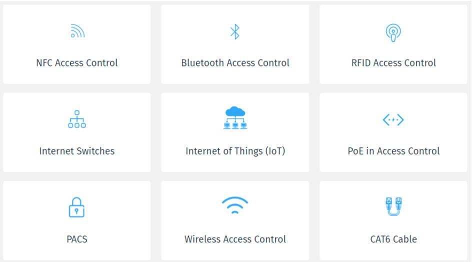 best access control technologies