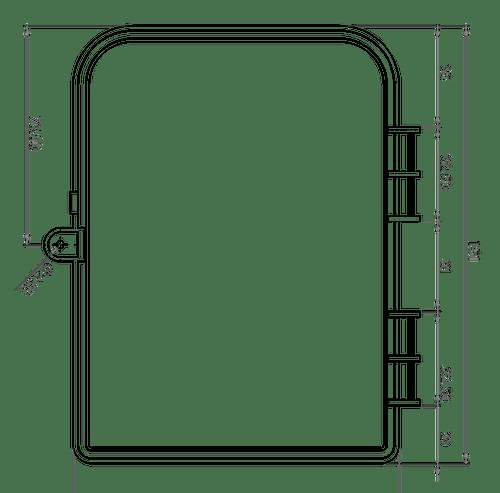 Kisi Controller Dimensions
