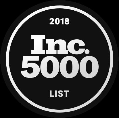 2018 Inc 5000 List