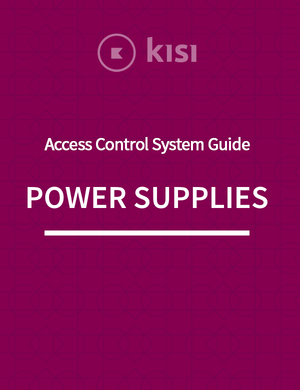 Power Supplies for Access Control