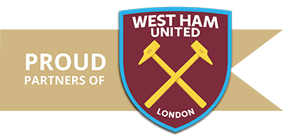 basset and gold West-Ham United's Official Global Investment Partner