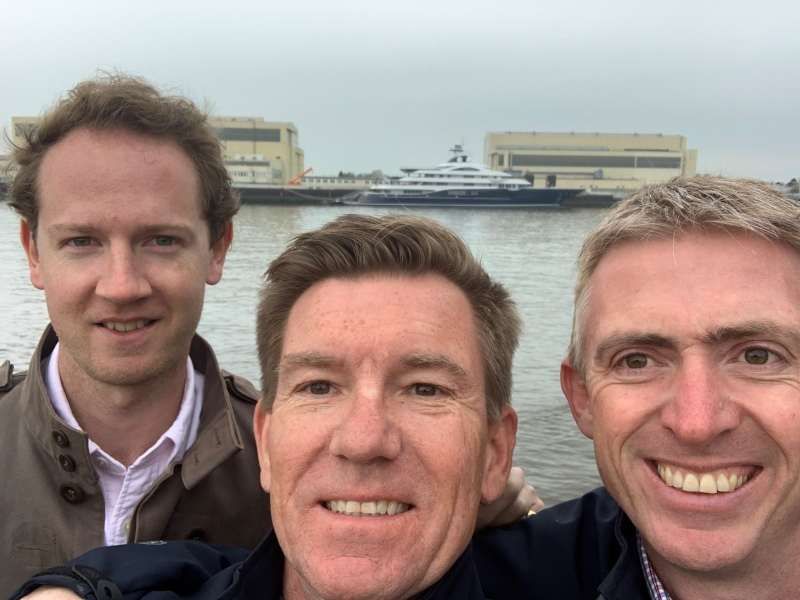 Visiting the German shipyards
