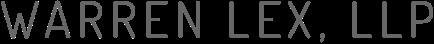 Warren Lex, LLP law firm logo.