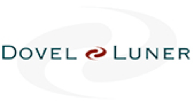 Dovel Luner law firm logo.