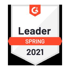 G2 Spring Leader 2021 Badge