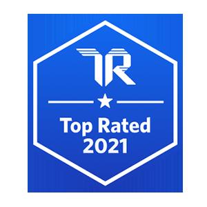 Trust Radius Top Rated 2021 Badge