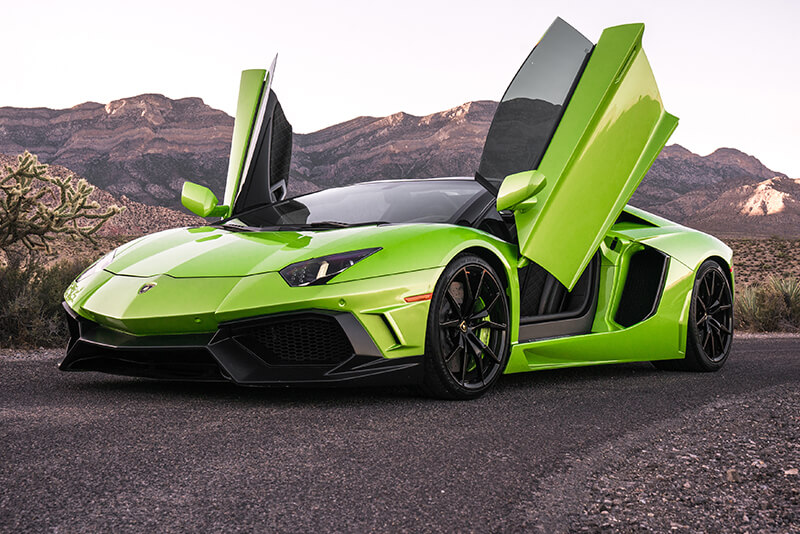 Rated #1 Exotic Car Rental experience in LV on TripAdvisor!