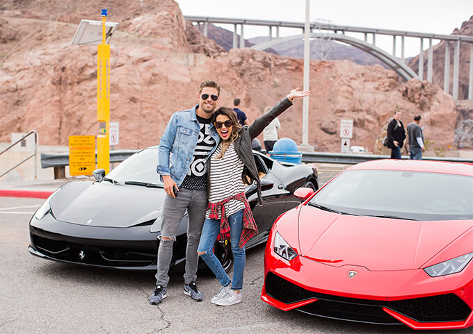 We Rented Our Cars From A Local Company In Vegas Royalty Exotic Cars And They Were So Helpful