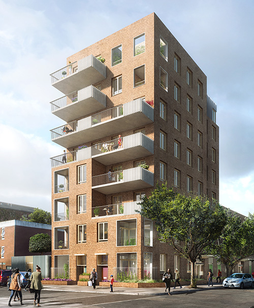 Ash Sakula Pedro Street Hackney Social Housing