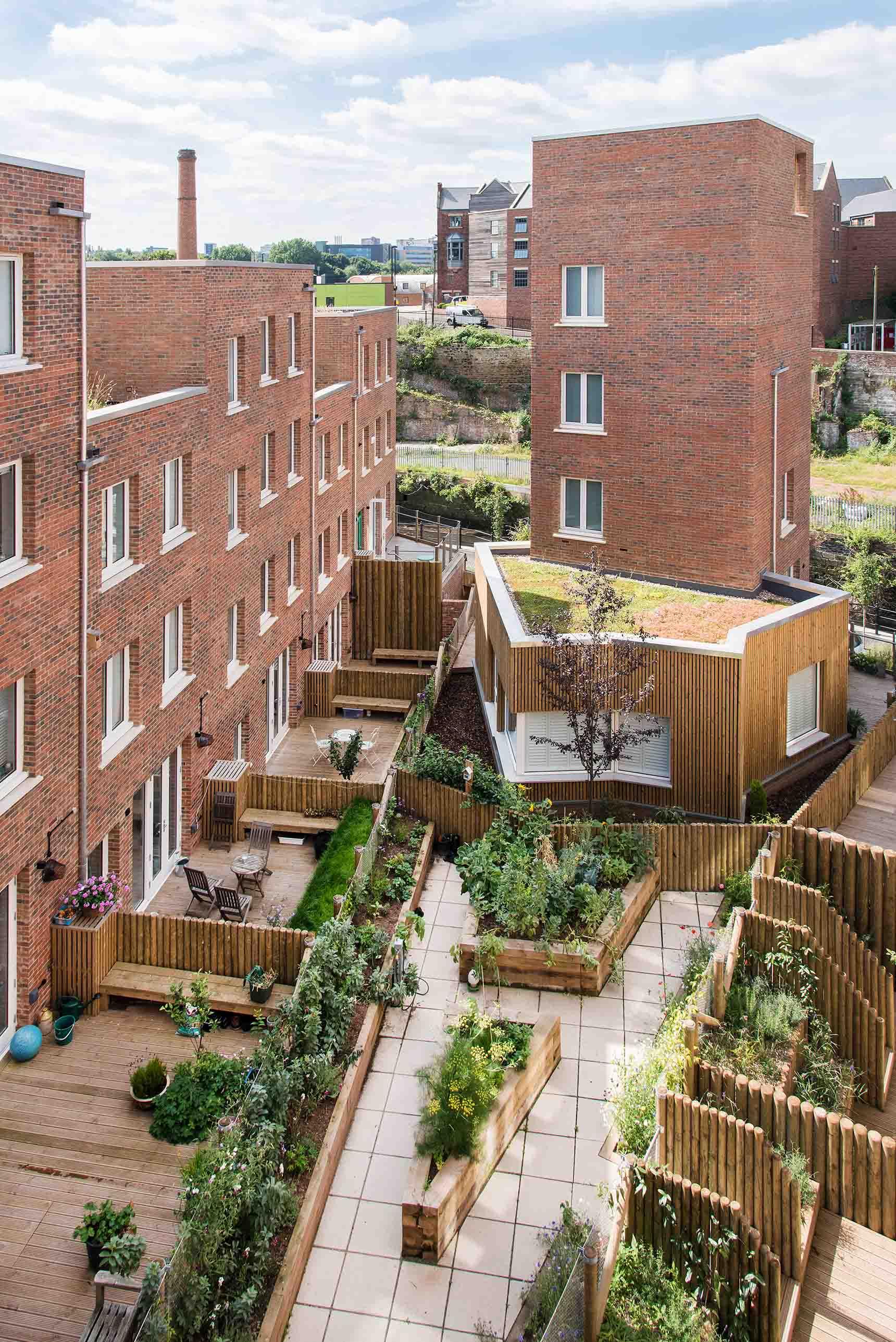 Ash Sakula The Malings Ouseburn Newcastle shared community garden allotments