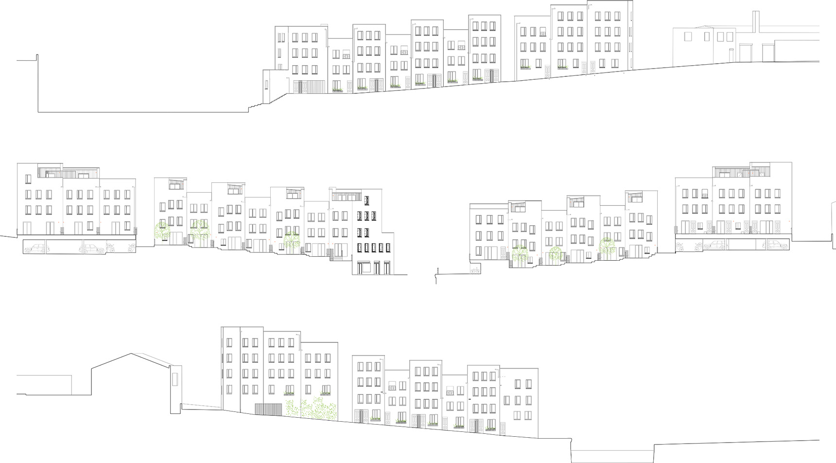 The Malings Newcastle elevation drawings
