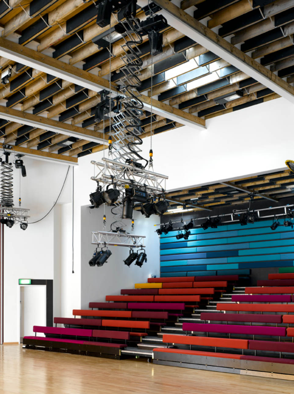 Theatre in Carnival Arts Centre by Ash Sakula Architects