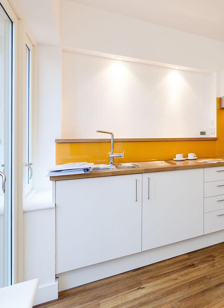 Exhibition Mews Ash Sakula interior view of kitchen meeting Lifetime Homes criteria