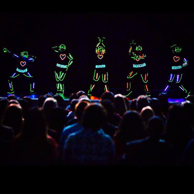 live event performers los angeles led dance show asher entertainment 30